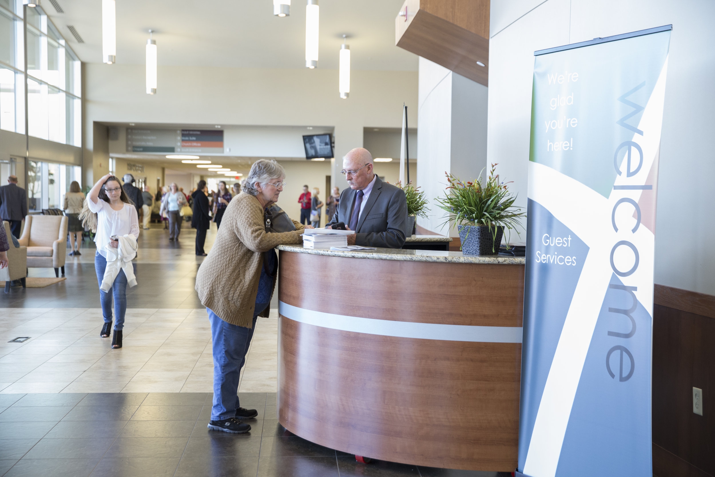 First Impressions - If you love people or love to serve, First Impressions is your team. Whether parking, greeting, serving coffee or ushering, you help welcome our guests to make sure they have a great experience.