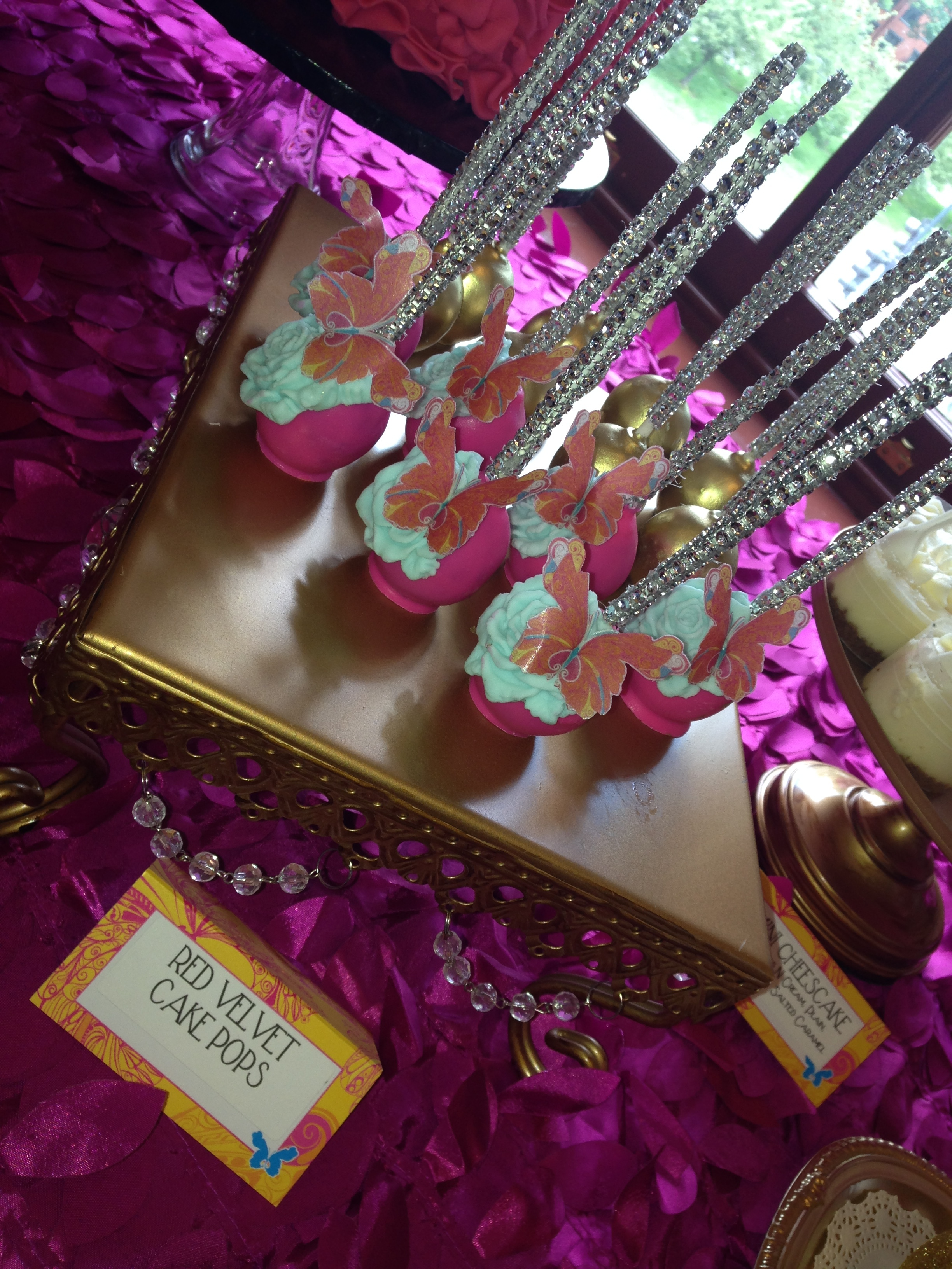 Festival Du Bebe Dessert Table - Cake Pops