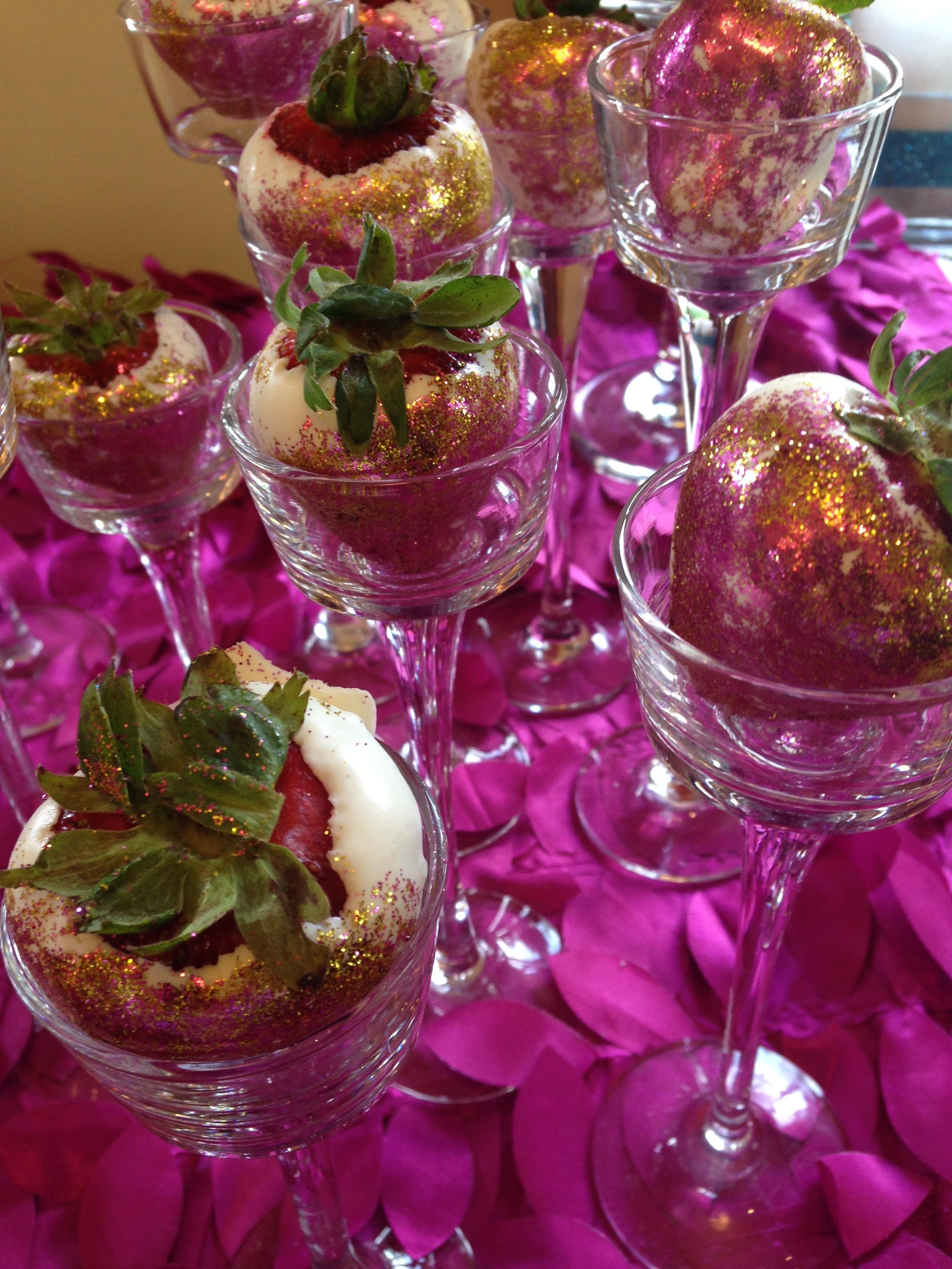 Festival Du Bebe Dessert Table - Chocolate Covered Strawberries