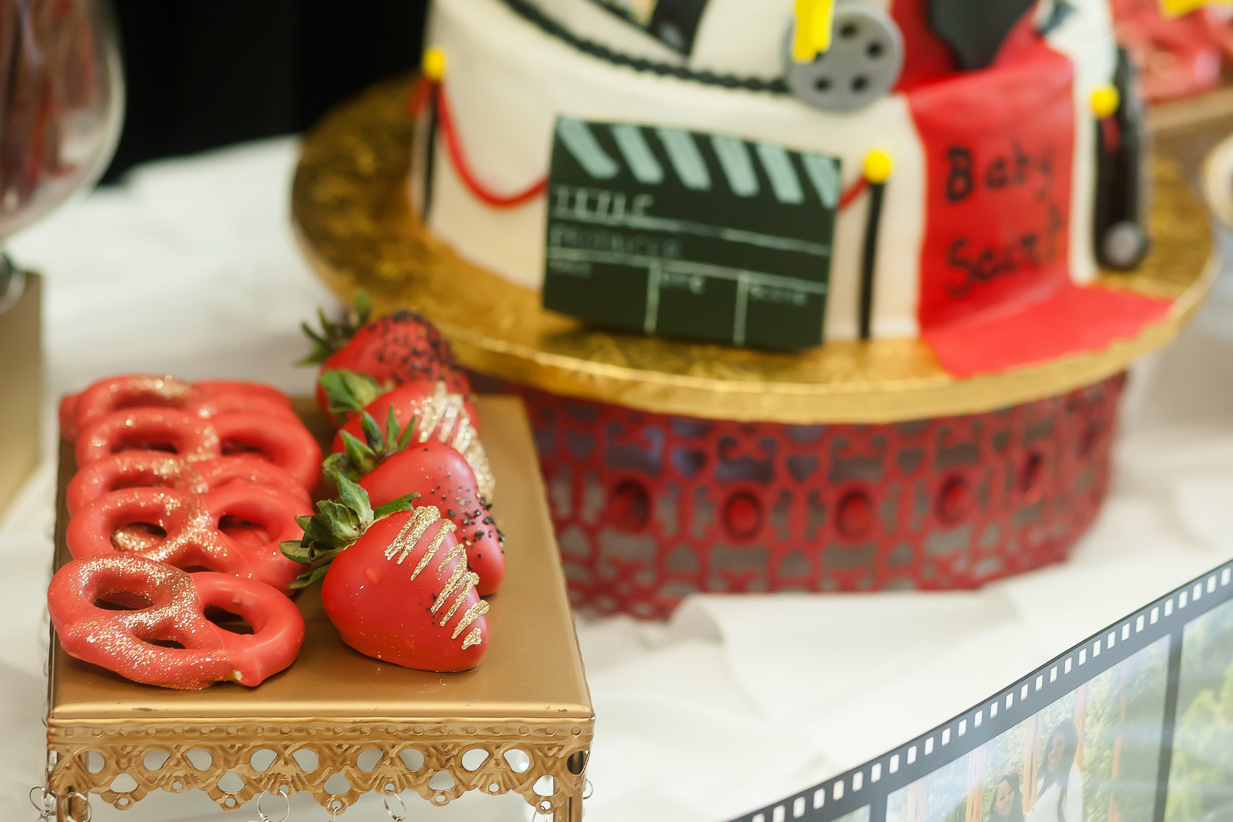 Movie Dessert Table