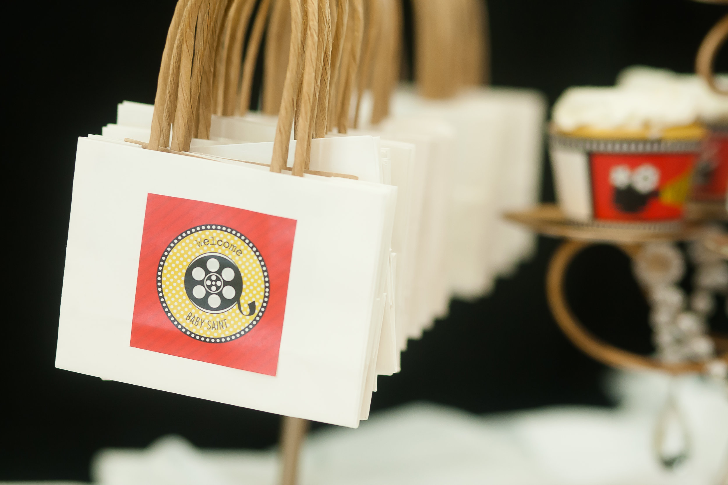 Movie Dessert Table - Favor Bags