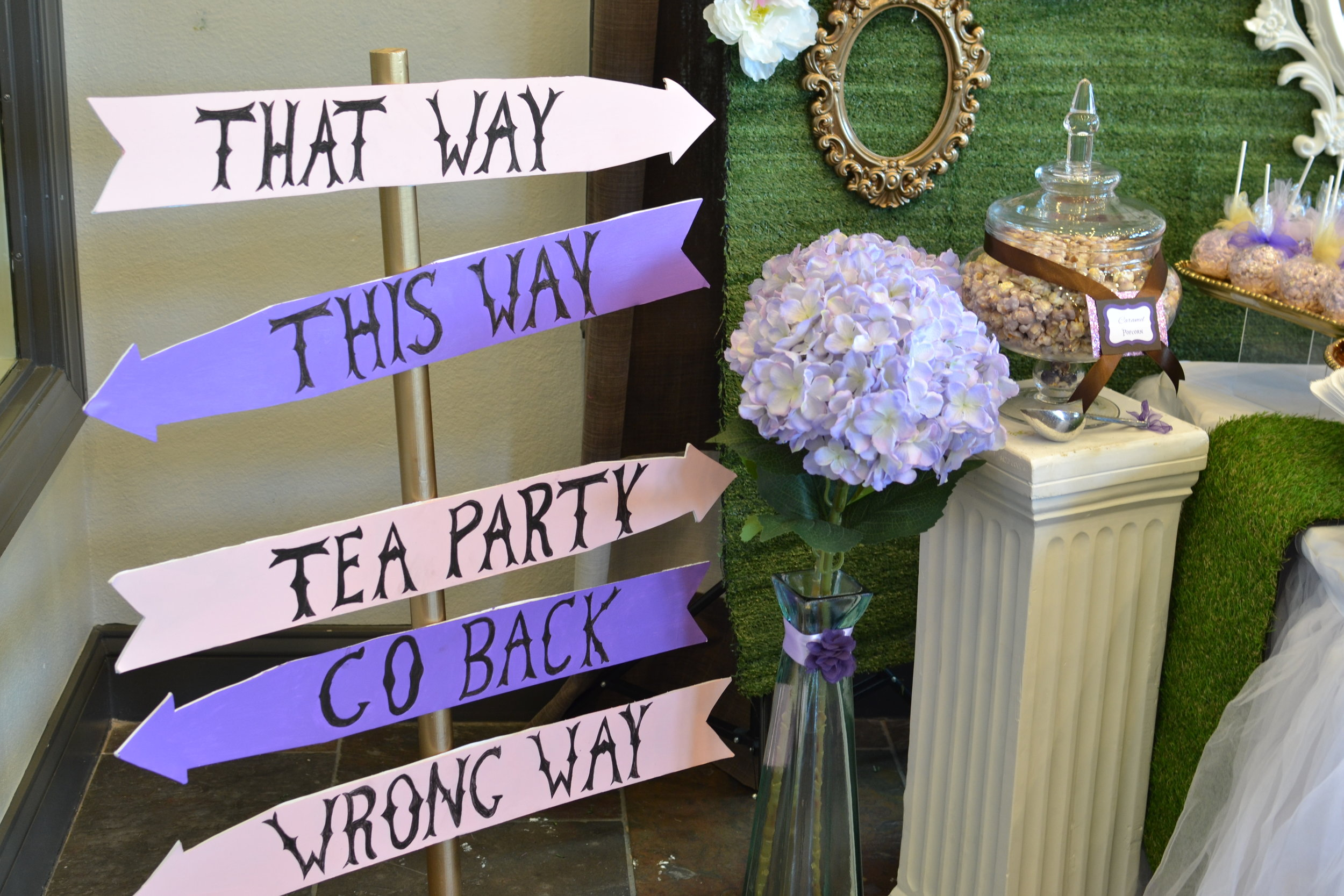 One-derland Tea Party Dessert Table