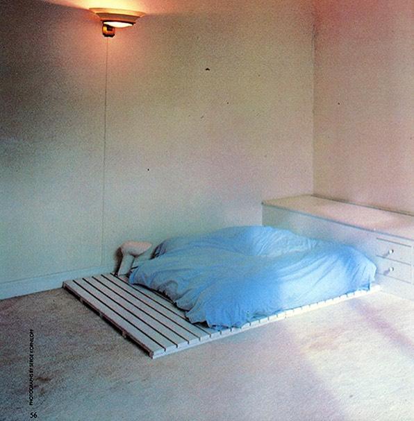 Thierry Mugler's apartment 1981