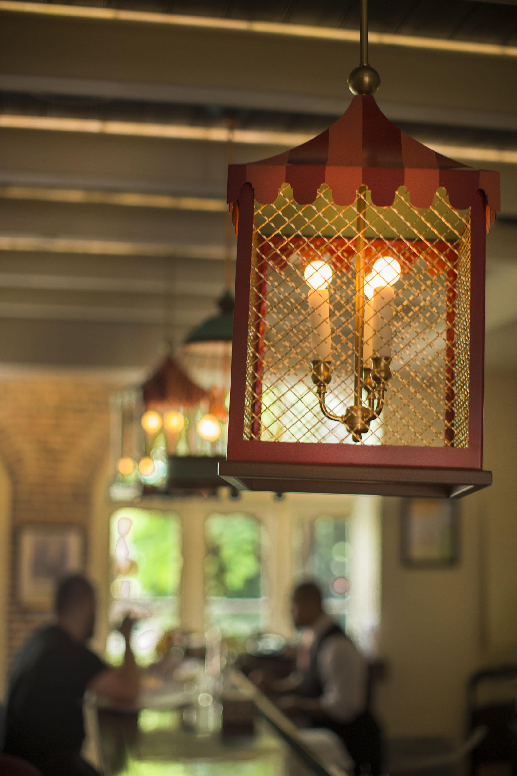 Lantern Detail at Brennan's Bar