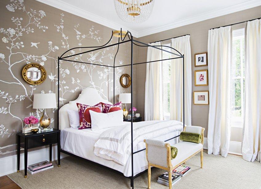 Adelaide Chandelier in Paloma Contreras Bedroom Design