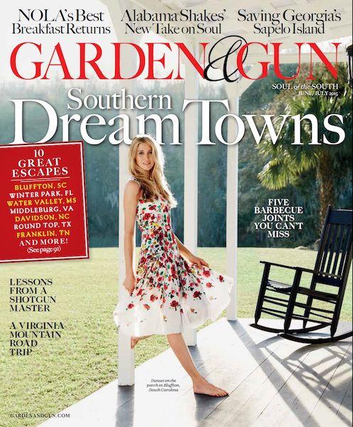 Garden & Gun June / July 2015
