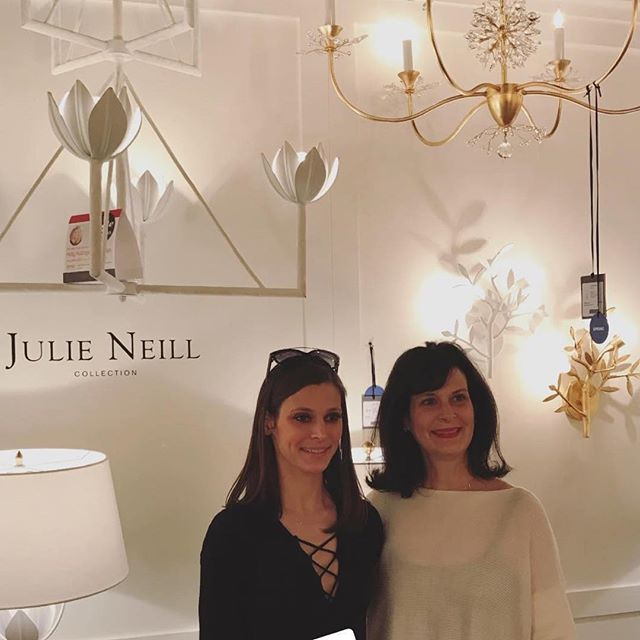 A wow moment happened when our Alberto chandelier in our new collection for Visual Comfort was #stylespotted by @theenglishroom! #thankyouholly #hpmkt #hpmkt2018 @visualcomfortco #chandelier