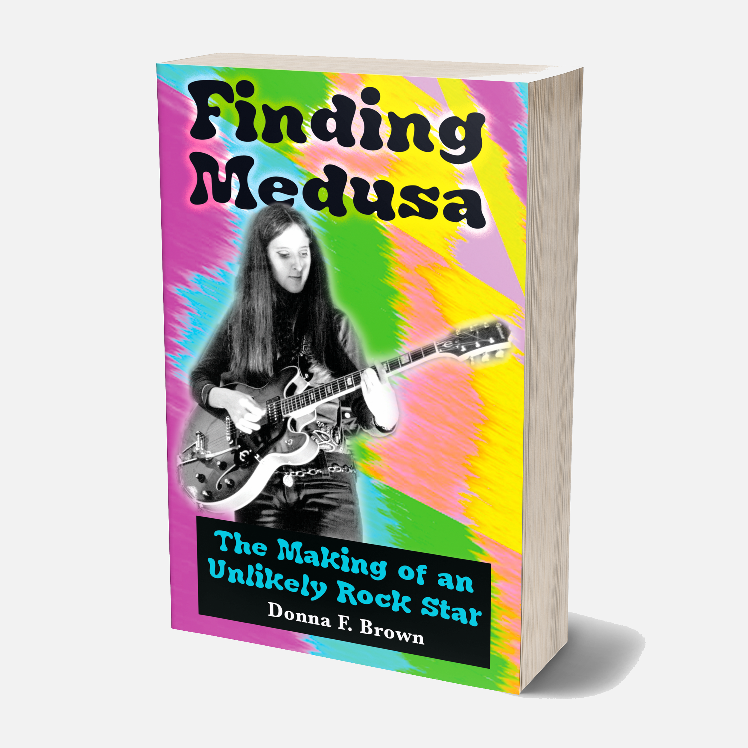 """Finding Medusa  is a whirlwind of a book, a definite trip! Donna Brown unfolds the events in her life and the reader is constantly thinking, """"What will she delve into next?"""" You will be entertained.  — Cyndi Skillings, M.A., retired teacher"""