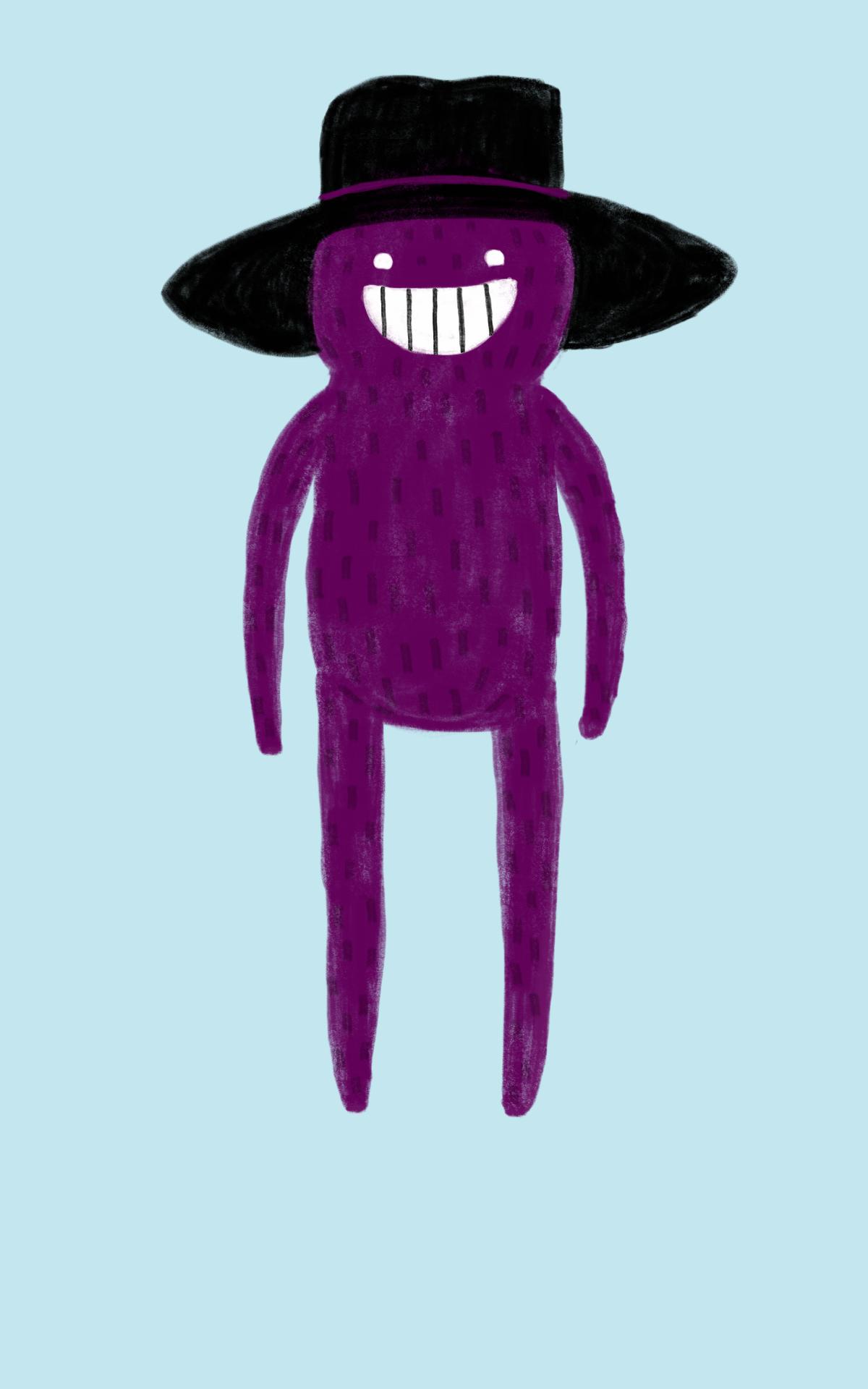 A friendly Hat Man.