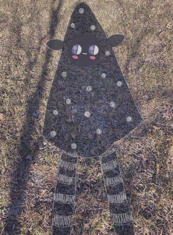 A sweet shadow friend.