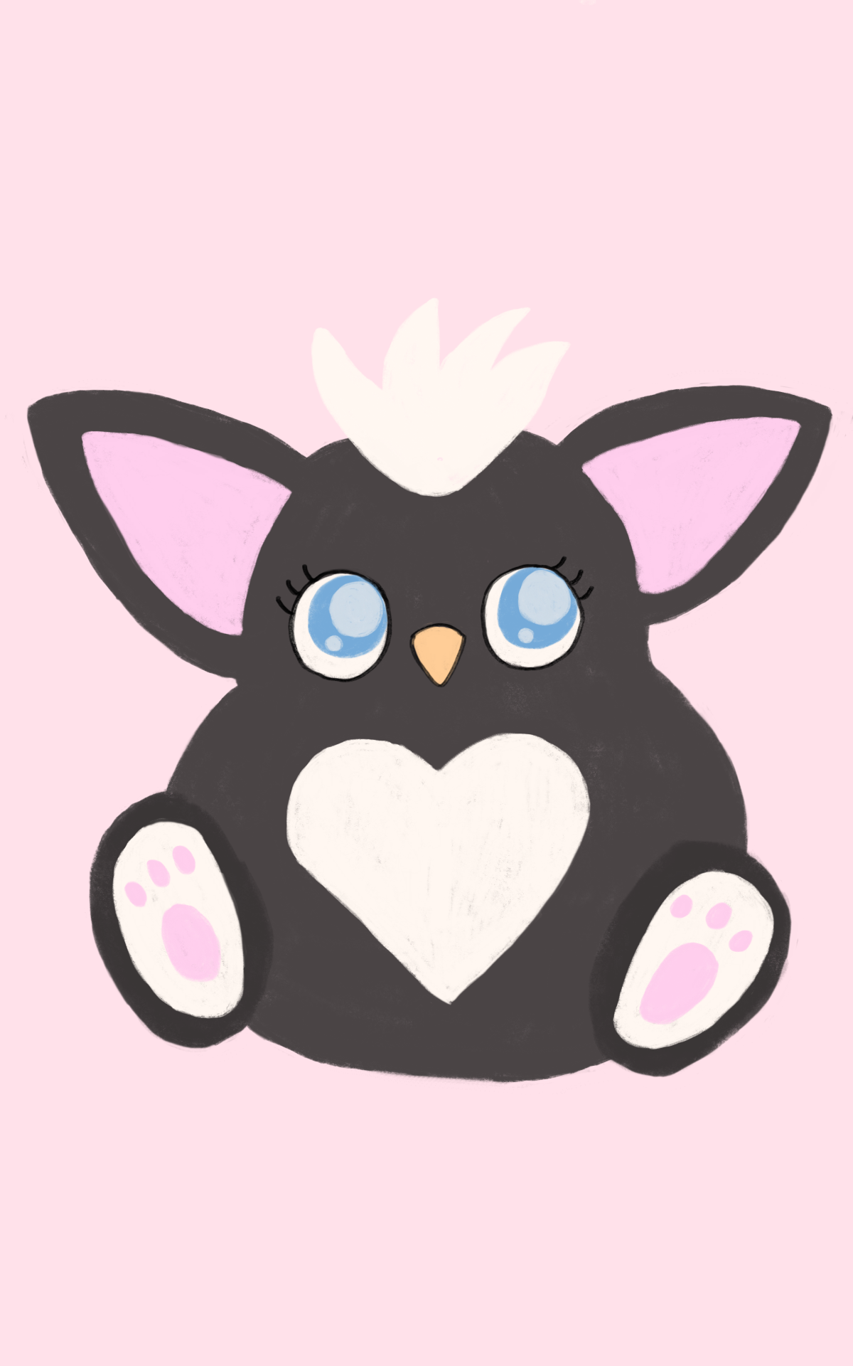Skunk Furby Color