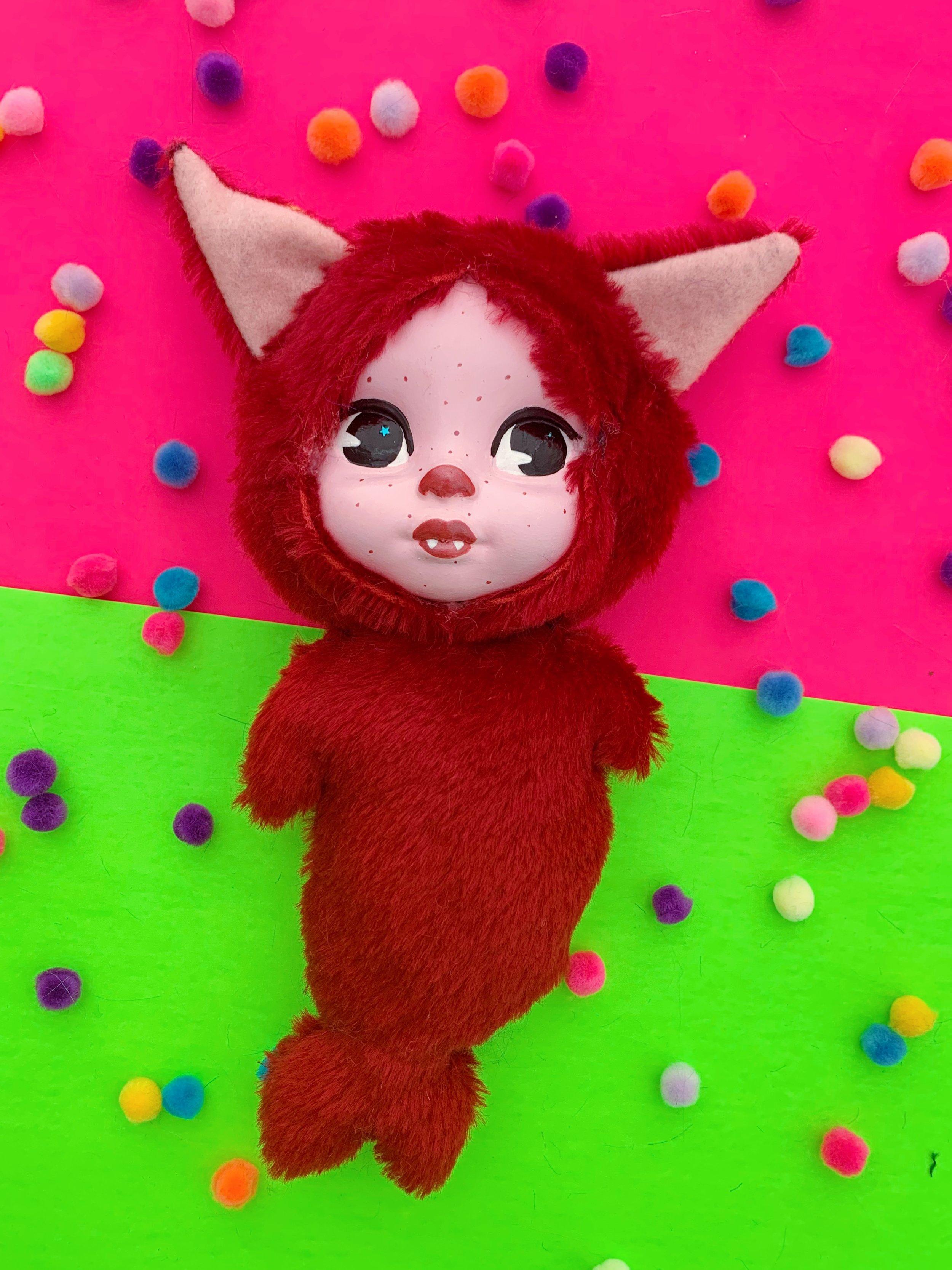 Valentine the mer-cat