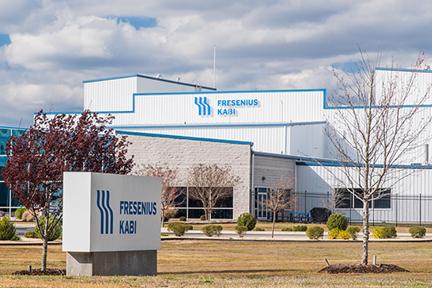 Fresenius kabi facility in wilson, nc.