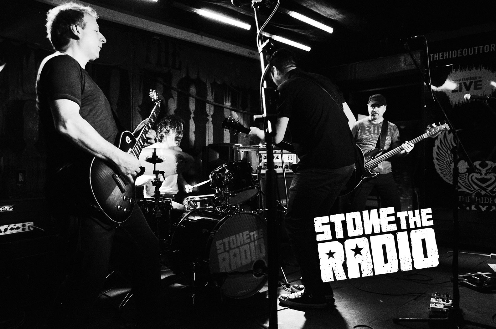 Stone The Radio  is four guys from the Southern Ontario area who perform new and classic alternative rock. From the local pubs and bars to the bigger special event, casino and festival stages, Stone The Radio brings something unique to the live music scene! Get ready to rock out to some awesome live alt-rock tunes!