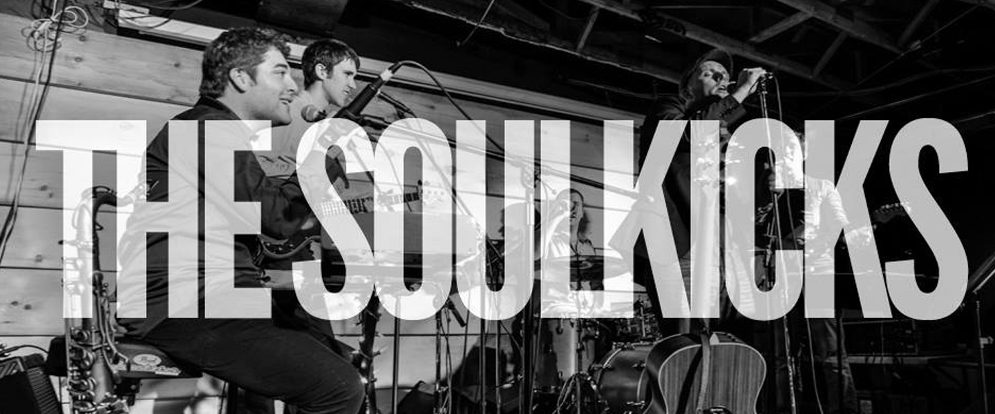 The Soulkicks are a high energy soul, funk and rock n roll band based in Toronto. The quality of their sound combined with their explosive live show makes The Soulkicks one of the best nights out you can have in the city. People come to see The Soulkicks to let loose, dance and appreciate the combined talents of some of Toronto finest musicians. The Soulkicks balance musical ingenuity with energy and style that appeals to audiences of various musical genres and tastes. There is a a bit of what you like running through every Soulkicks set and that's what gives the band its appeal. With the wide ranging powerful raspy vocals of their charismatic frontman Sean Byrne combined with the energetic live sounds from the stage, The Soulkicks have a well-earned reputation of creating a highly charged atmosphere where the crowd just kick back and become a part of the musical experience. From Toronto's best live venues to festivals to private functions, The Soulkicks have such an expansive repertoire that they can step into any atmosphere, engage with a crowd, catch the vibe and fill the dance floor with a couple of bars of some of the most recognized tracks ever released. Too often live music can be a touch contrived and bland, the difference is The Soulkicks, bring what the audience demands to the table, then they just krank up the sax and bass and take it back to The Oldschool the way you like to remember it.
