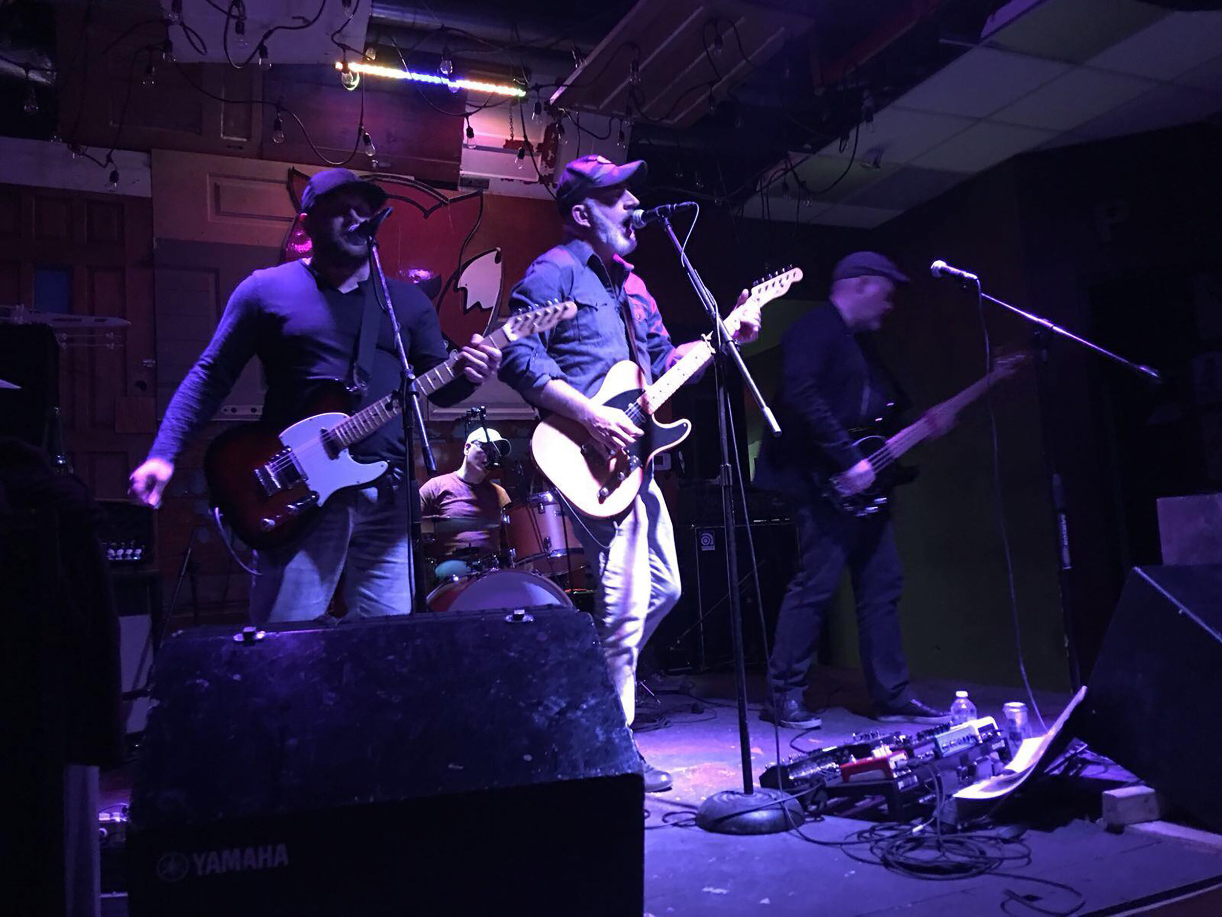 Big Furry Tractor Live in Toronto at the Hideout!   Hey Toronto friends! We're excited to be playing at the Hideout on College Ave at Bathurst. This is truly a great live music venue and an awesome bar.   Please come join us for some music and cold beverages. Would love to see you there!