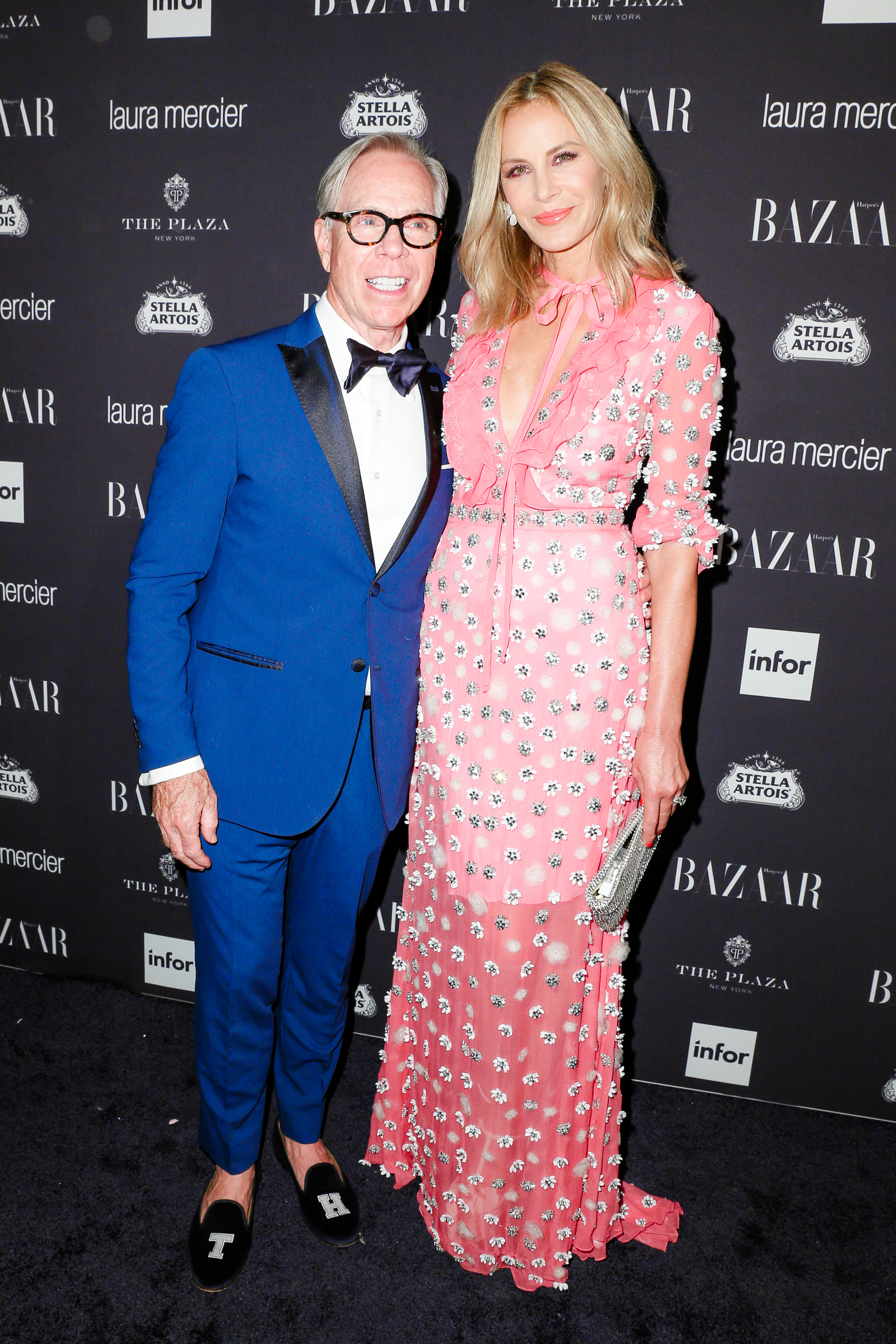 Tommy Hilfiger and Dee Ocleppo arrive at Harper's BAZAAR's celebration of 'ICONS by Carine Roitfeld' at The Plaza Hotel presented by Infor, Laura Mercier and Stella Artois_BFA.jpg