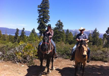 Camp Richardson Horse Rides
