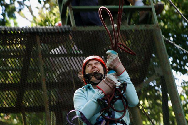 Zip Line and Tree Top Adventure