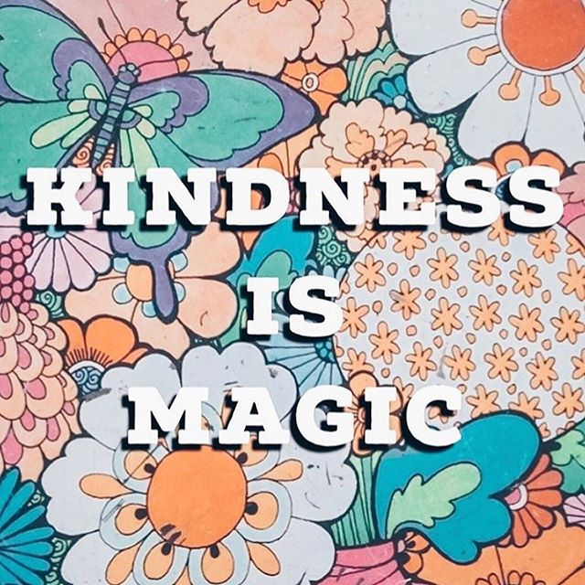 Ain't that the truth. Be kind and feel the magic. Wishing you all a magical holiday week filled with super kind vibes and actions. ✌️ : : : : : : : #bekind #kindness #cooltocare #bekindtoeverything
