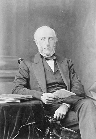 George Brown (Source:  Library and Archives Canada )