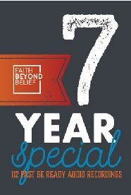 7 Years of audio FBB Conference Recordings   $99 - MP3 Audio (plus shipping)