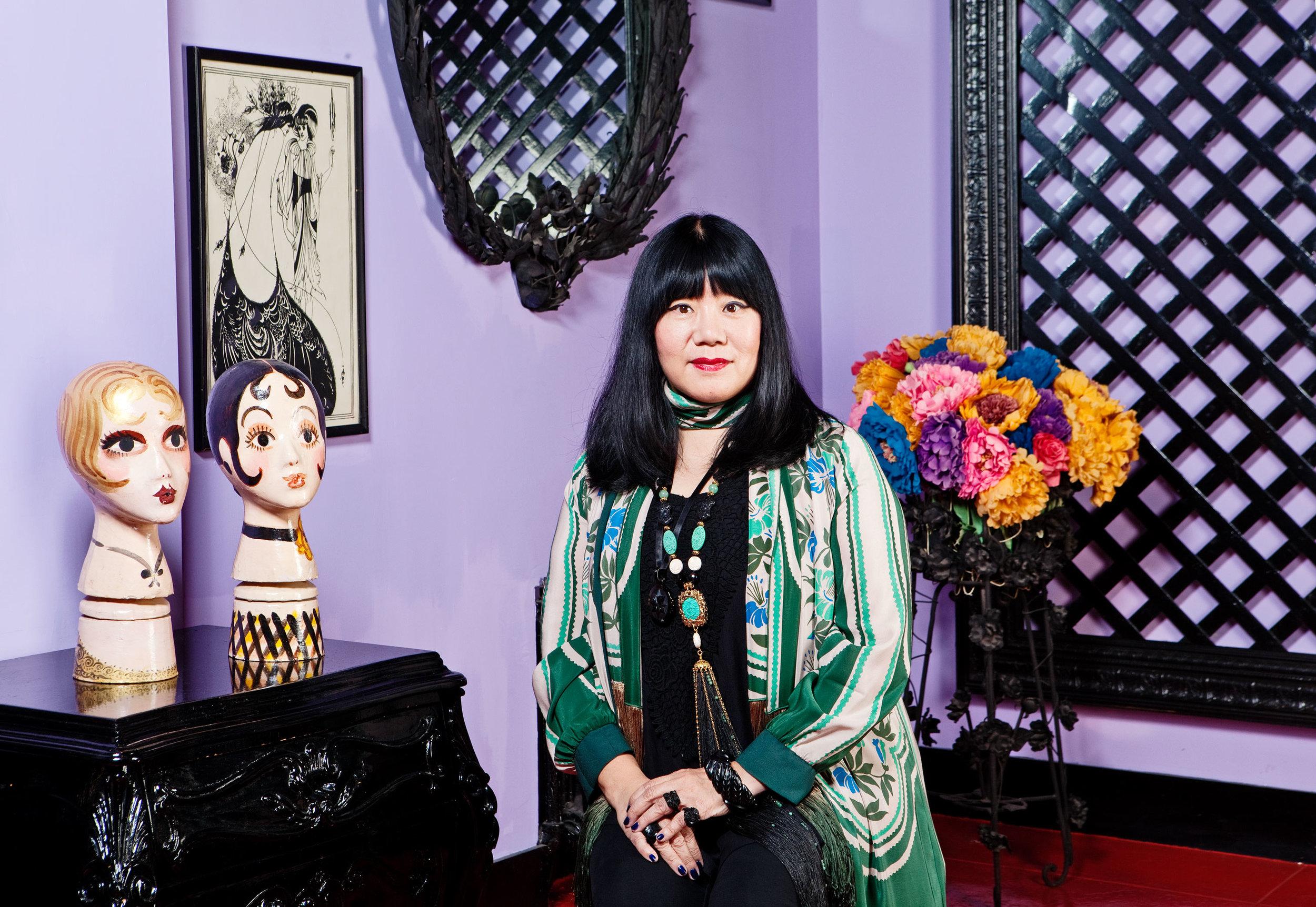 Anna Sui | fashion designer