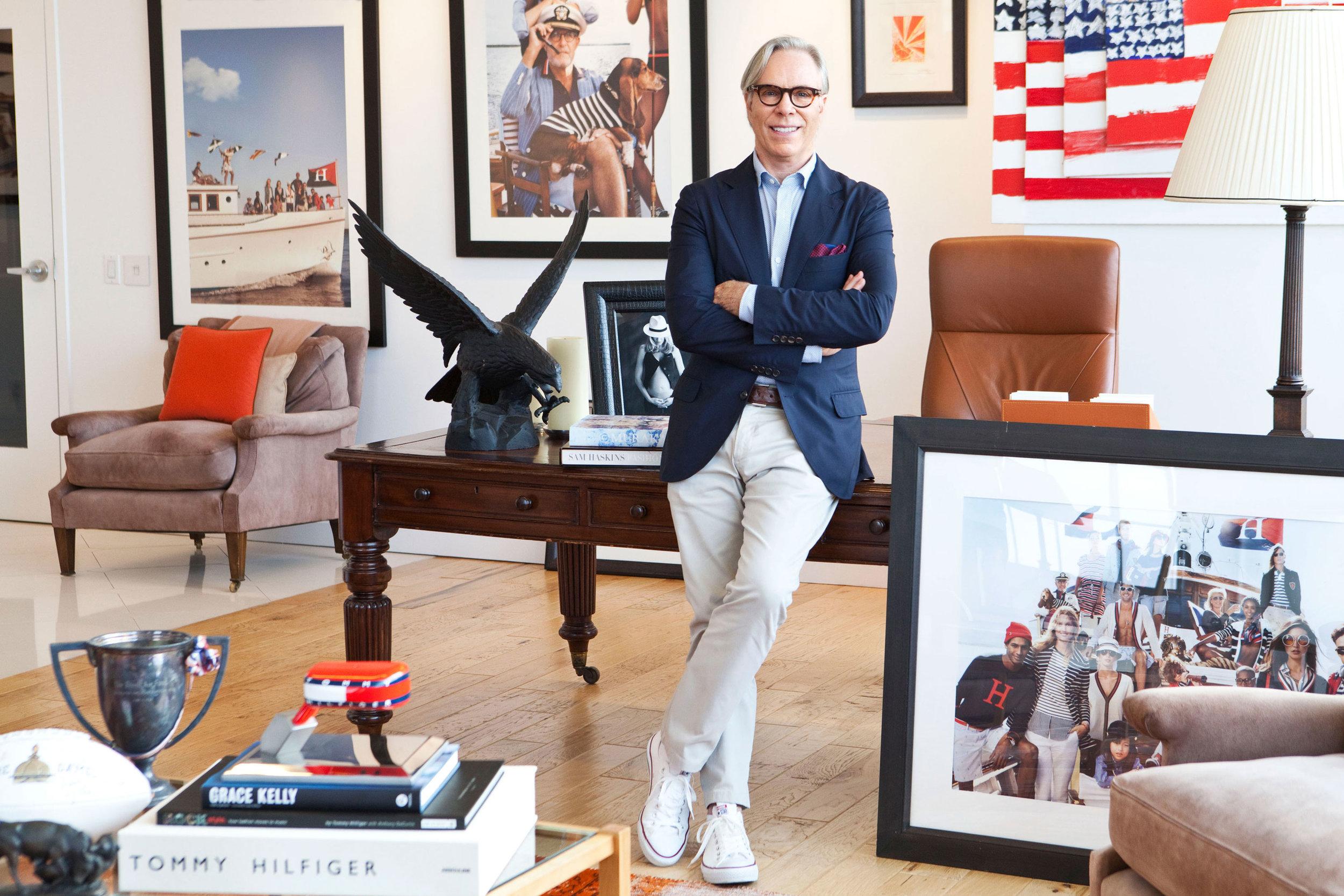 Tommy Hilfiger | fashion designer