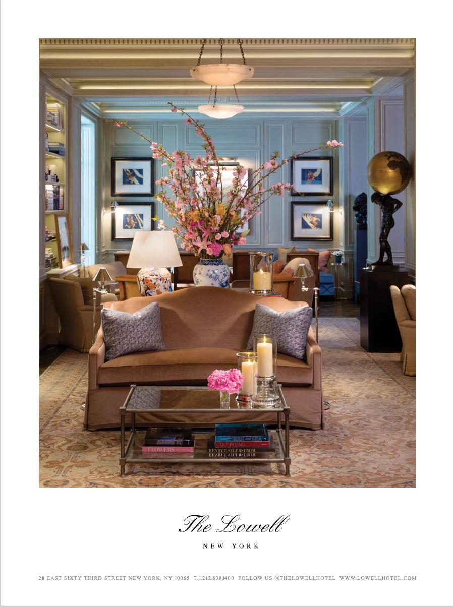 C Magazine/ The Lowell Hotel