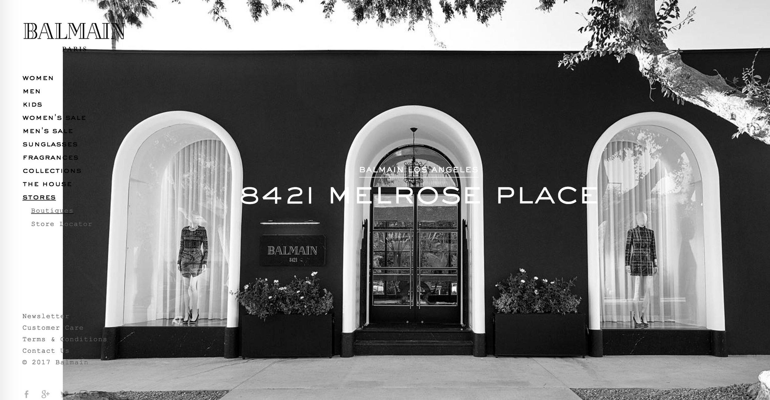 Balmain Melrose Place