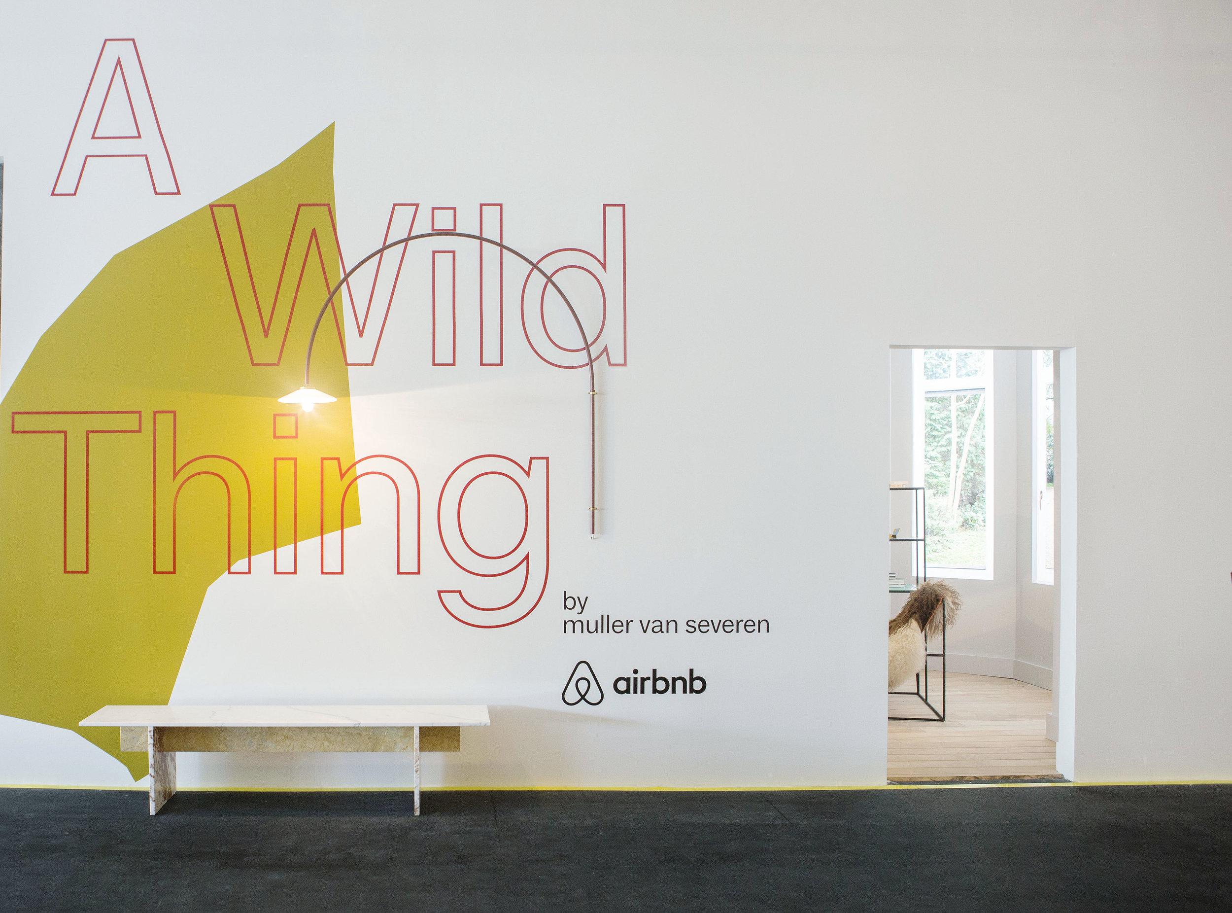 A Wild Thing | By Muller van Severen | Air BnB | Design Miami 2017