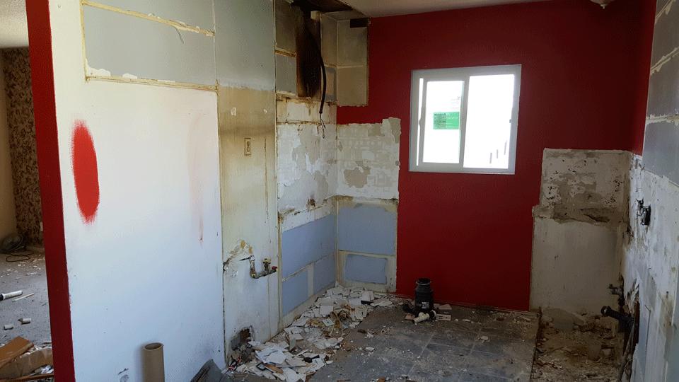 Copy of Mid-Renovation Kitchen