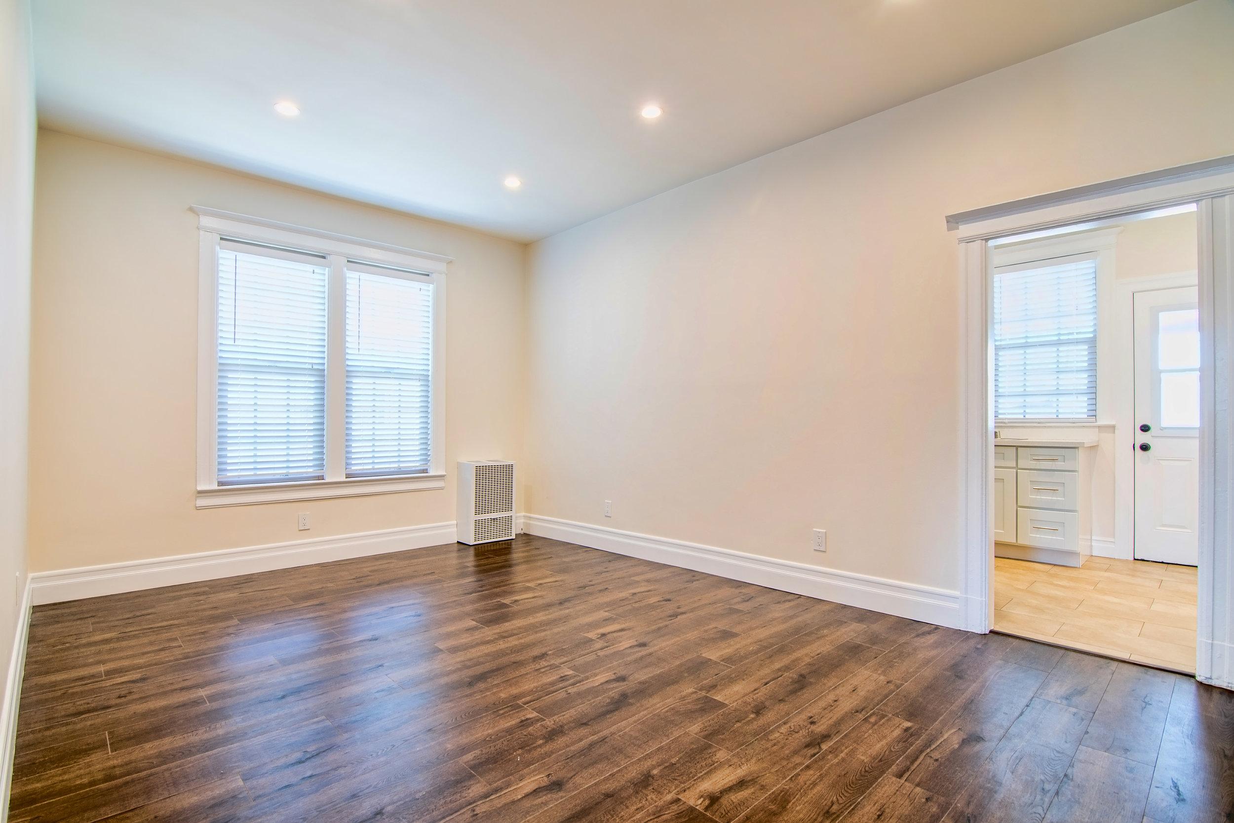 Post-Renovation Living Room