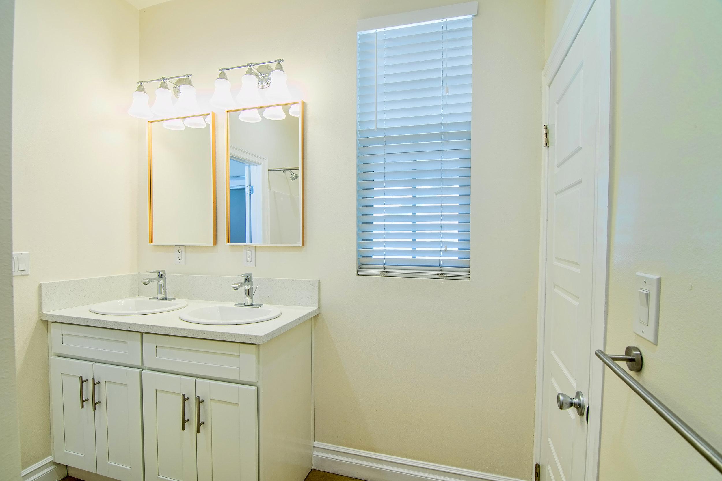 Post-Renovation Bathroom