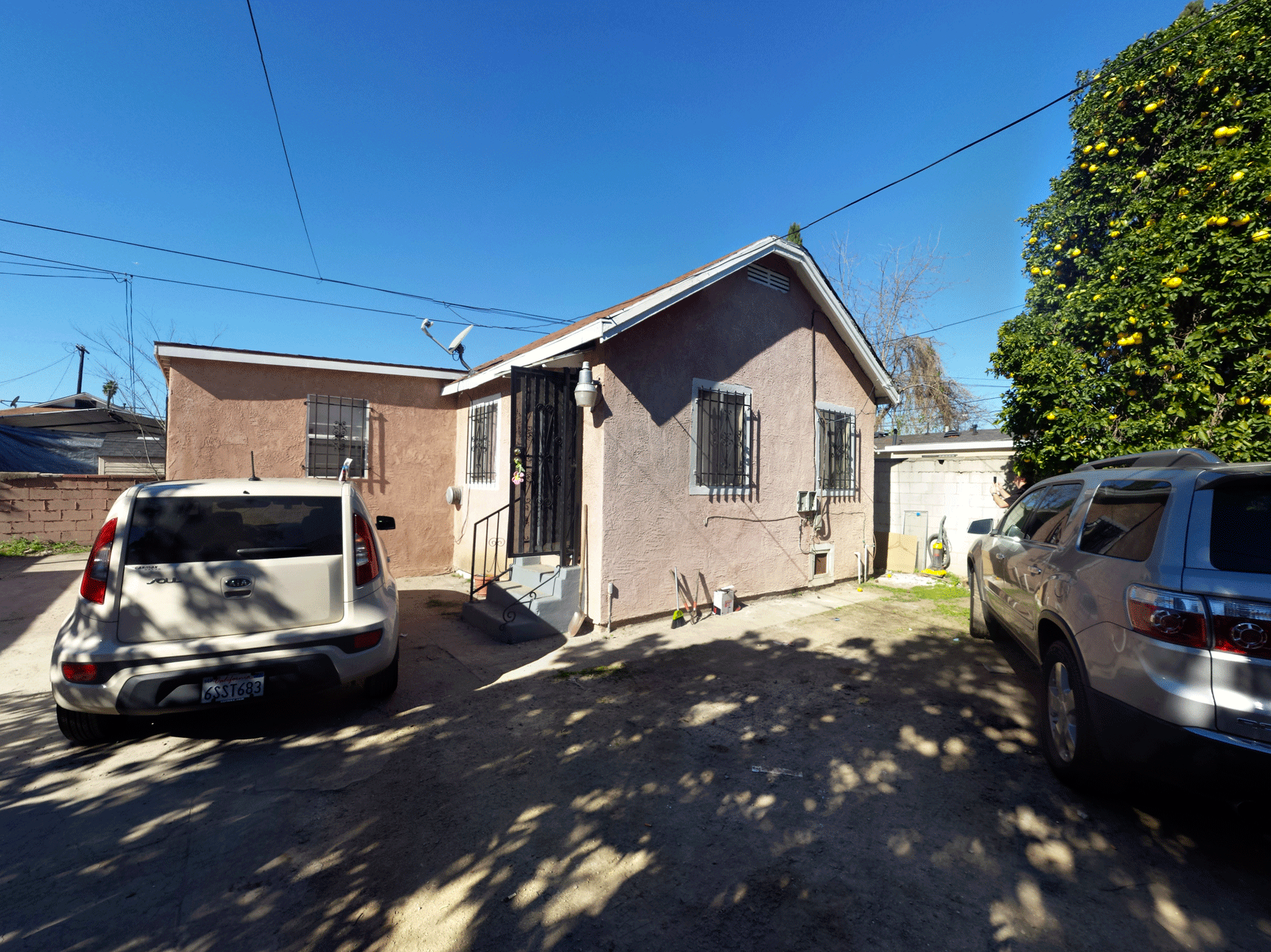 Pre-Renovation Rear House
