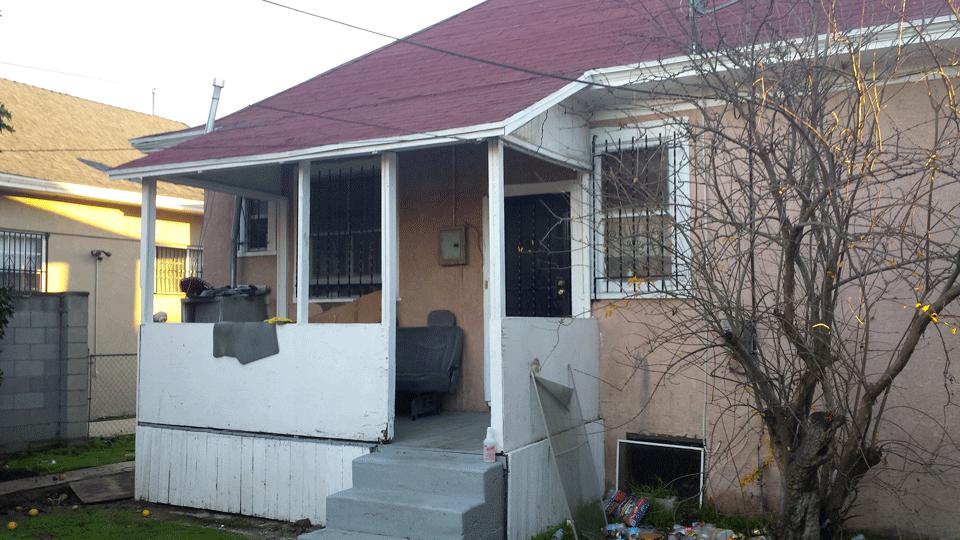 Pre-Renovation Back Porch