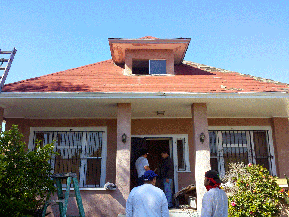 Mid-Renovation Front