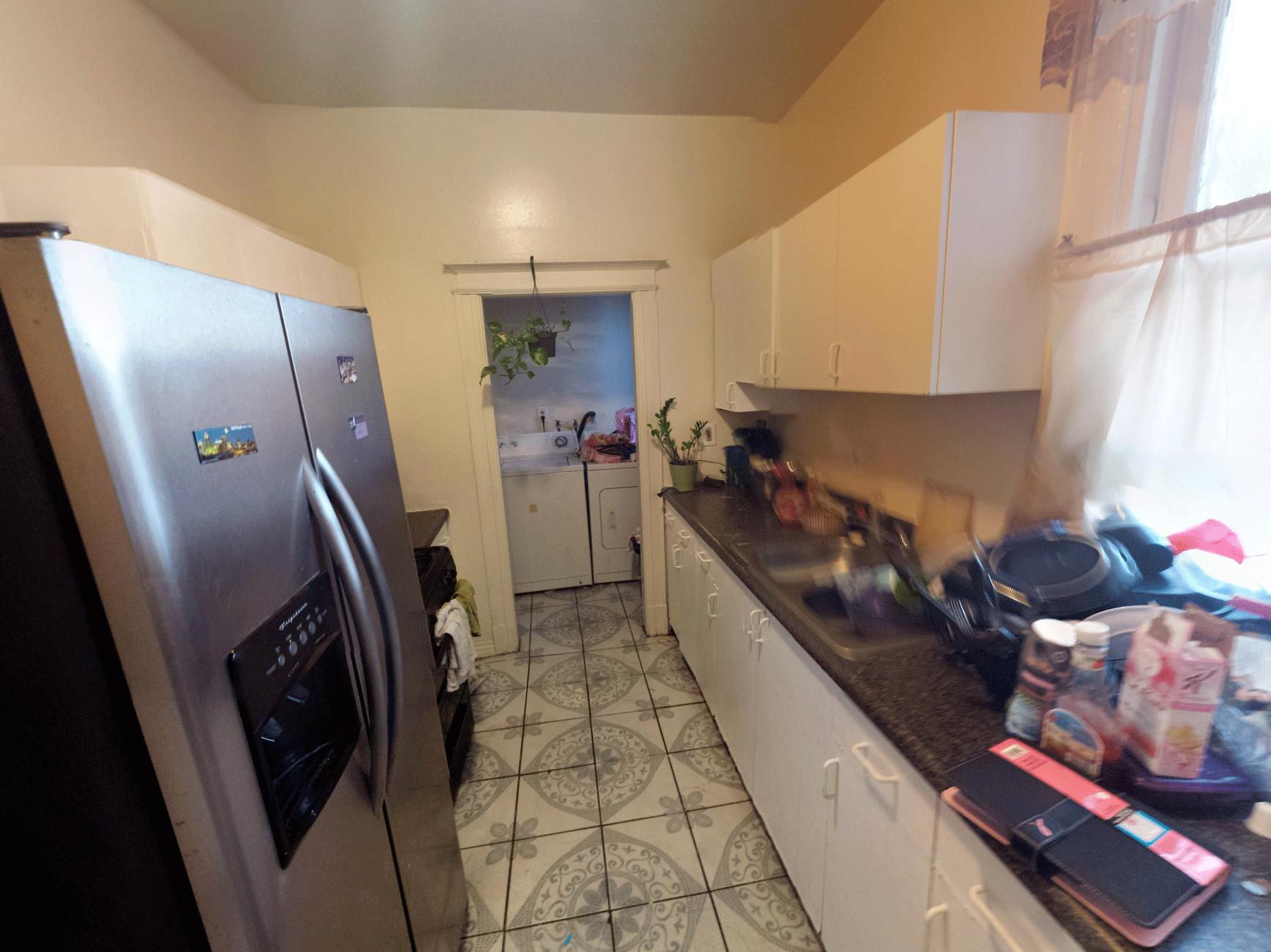 Pre-Renovation Kitchen