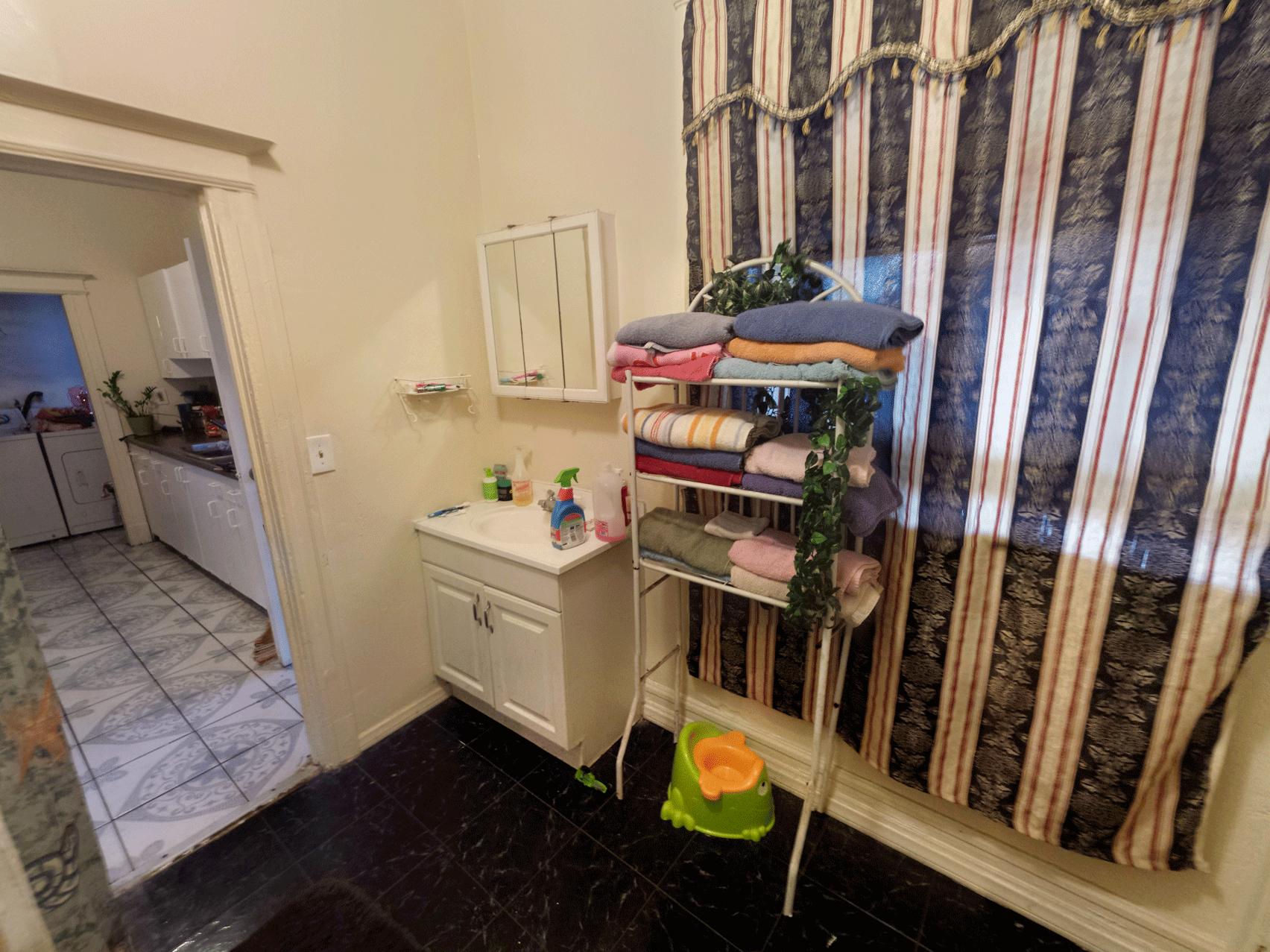 Pre-Renovation Bathroom
