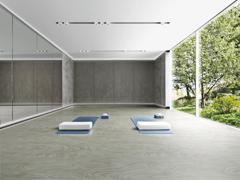 organic elastic flooring