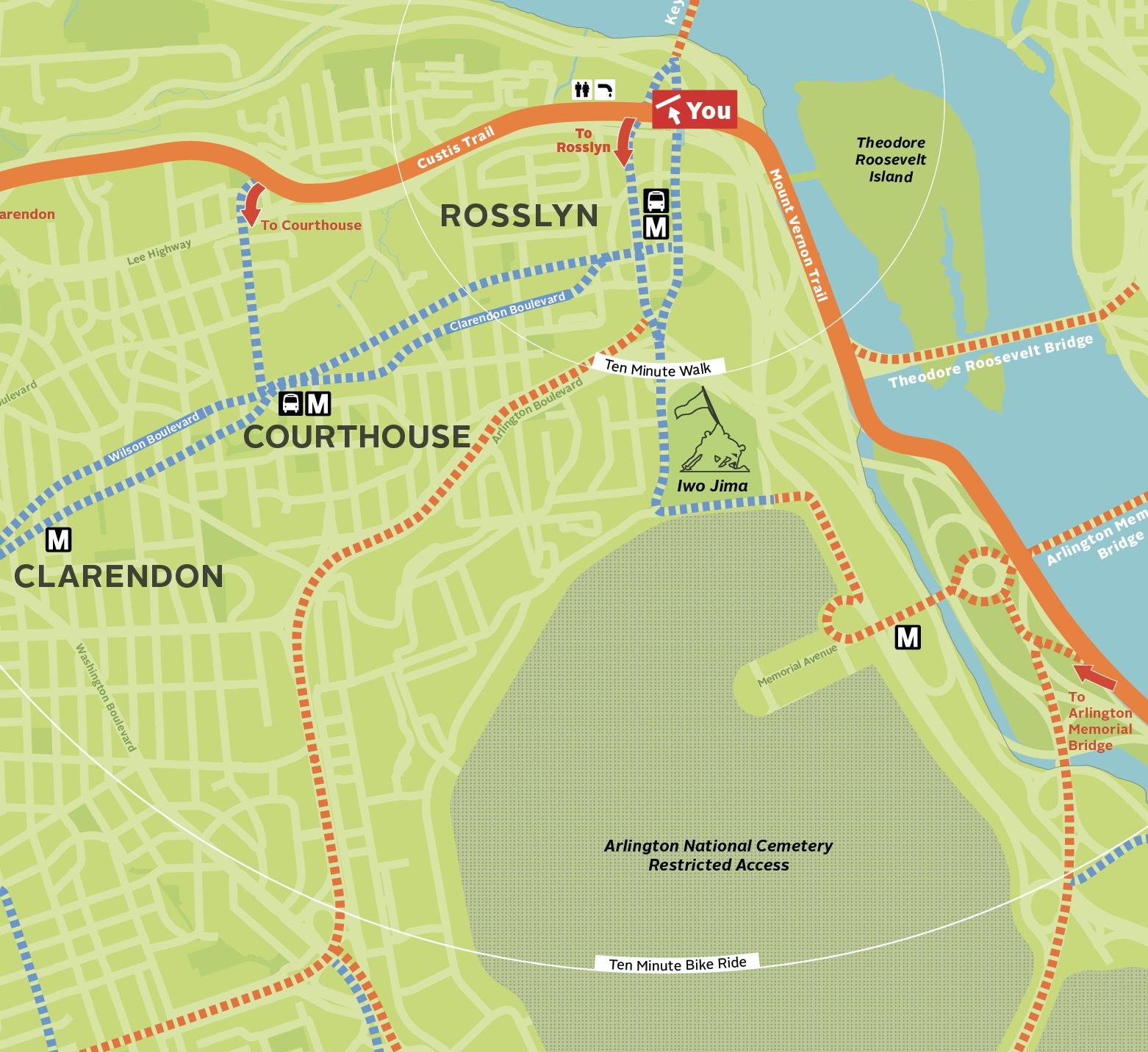 Arlington Bicycle Maps