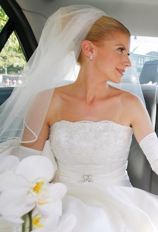 Romy in Car After Ceremony.jpg