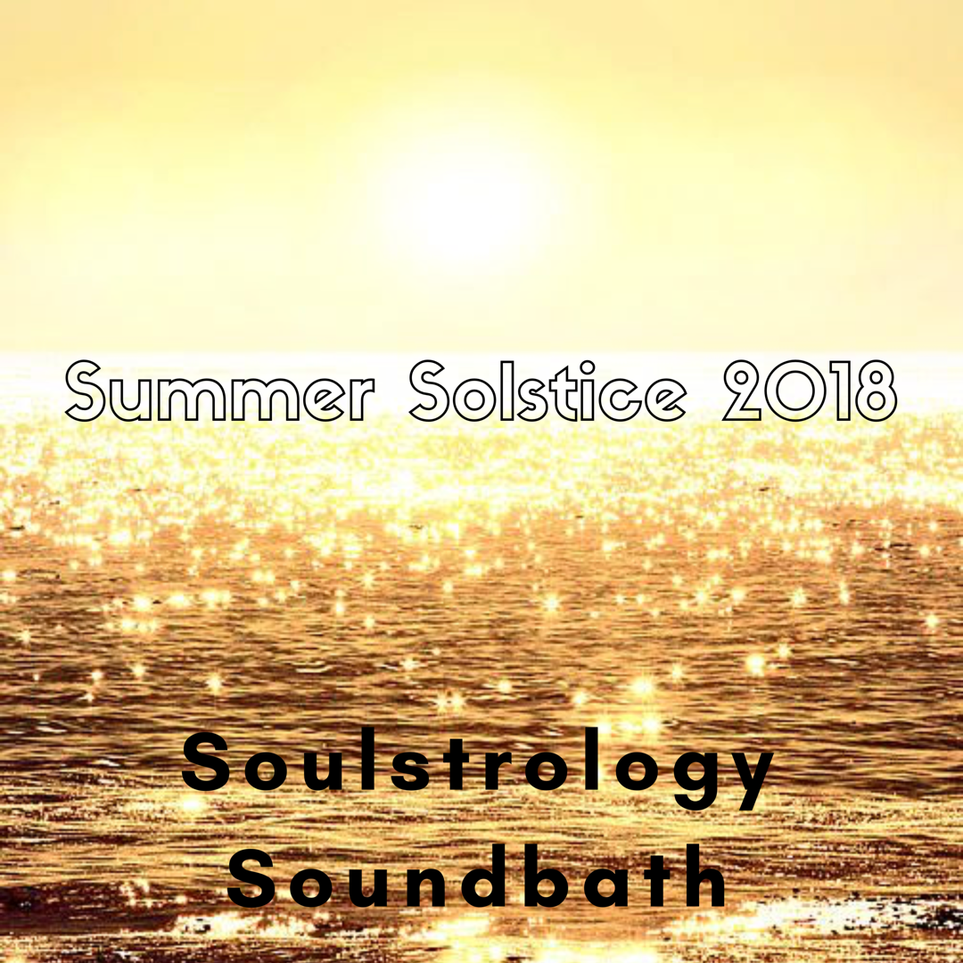 Summer summer time.....and time for some Pluto Soulstrology Soundbath action!
