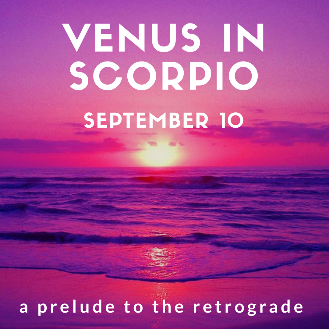 Yep in 2018 as well as the usual retrogrades we have both Mars (now finished thank goodness!) AND Venus turn retrograde!