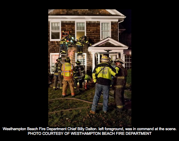 First Responders Put Out Chimney Fire  -