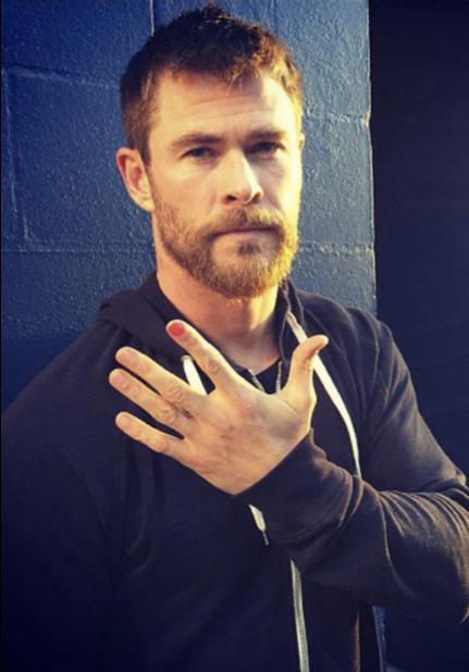 Chris Hemsworth for Polished Man