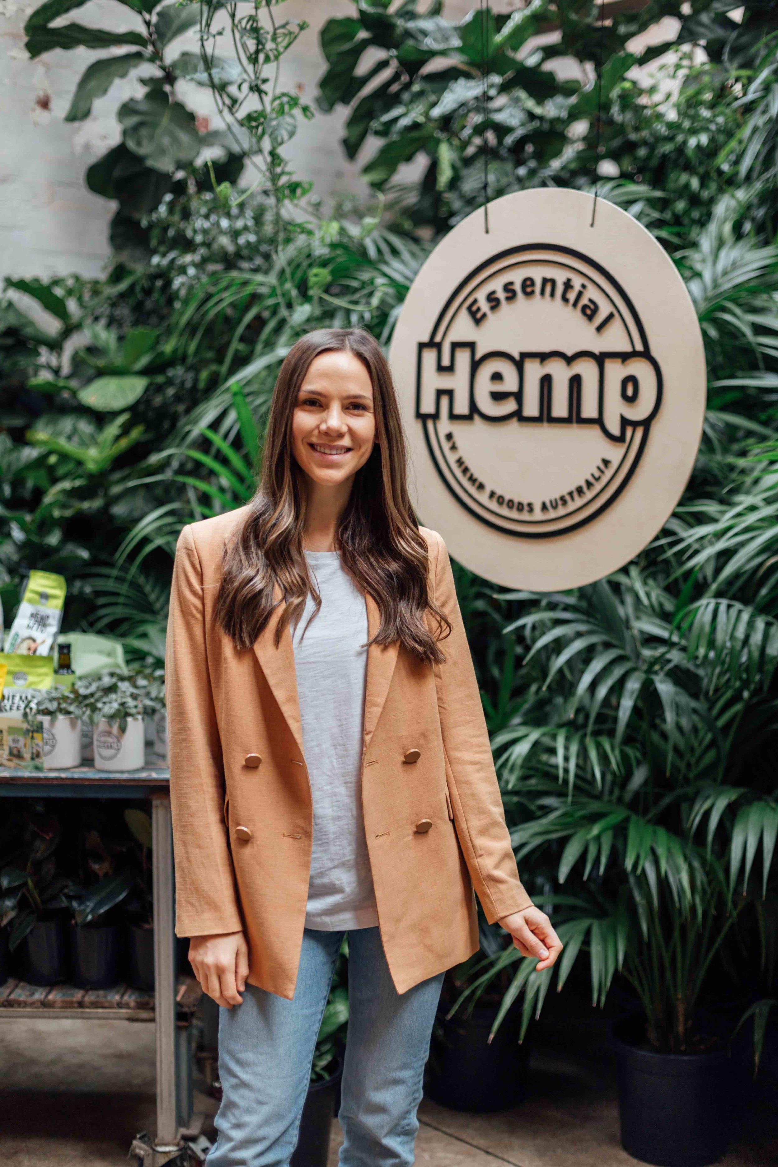 Alex Pendlebury at Hemp Foods Australia