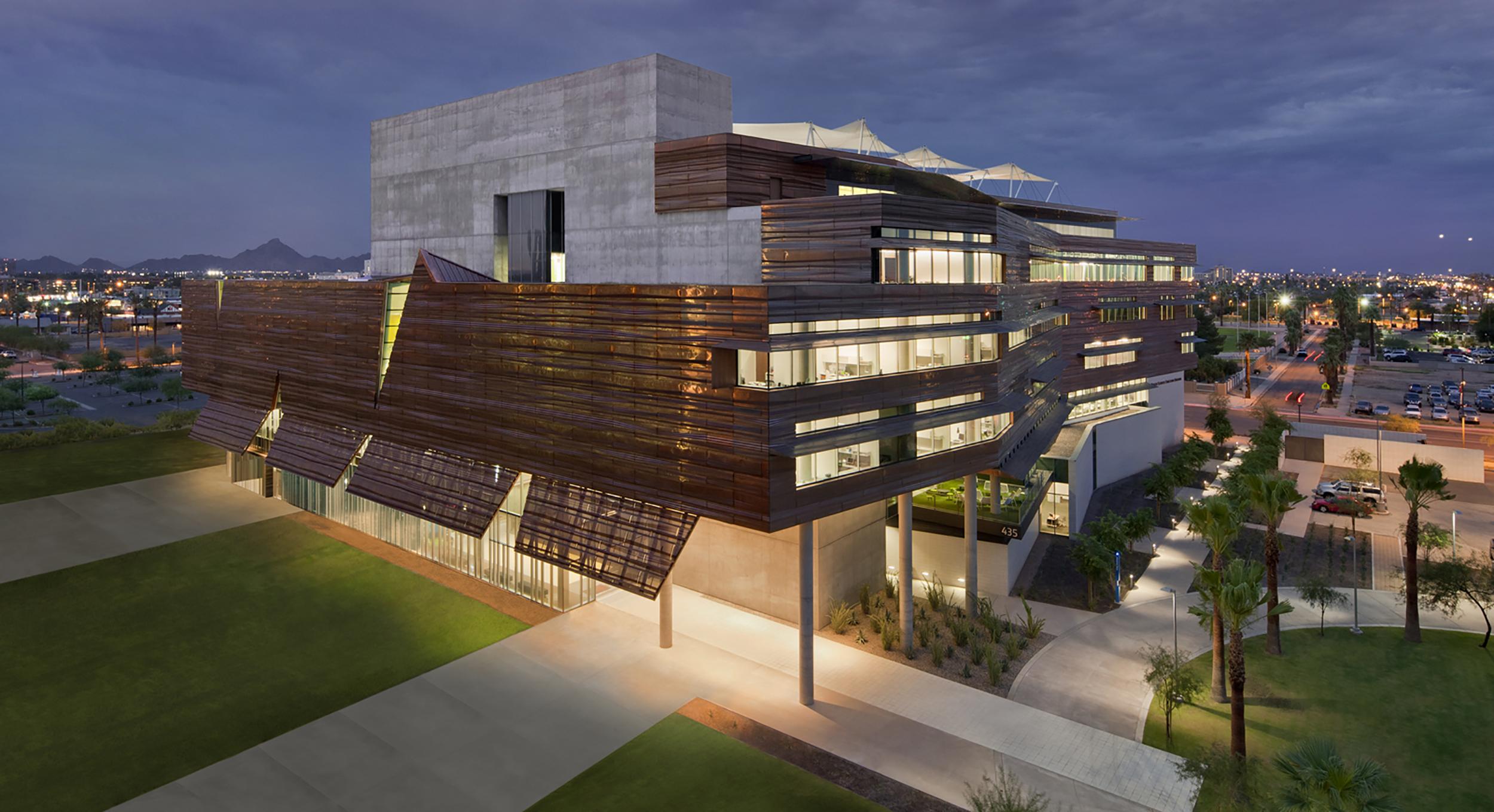 UNIVERSITY OF ARIZONA - HEALTH SCIENCES EDUCATION BUILDING   Phoenix, Arizona