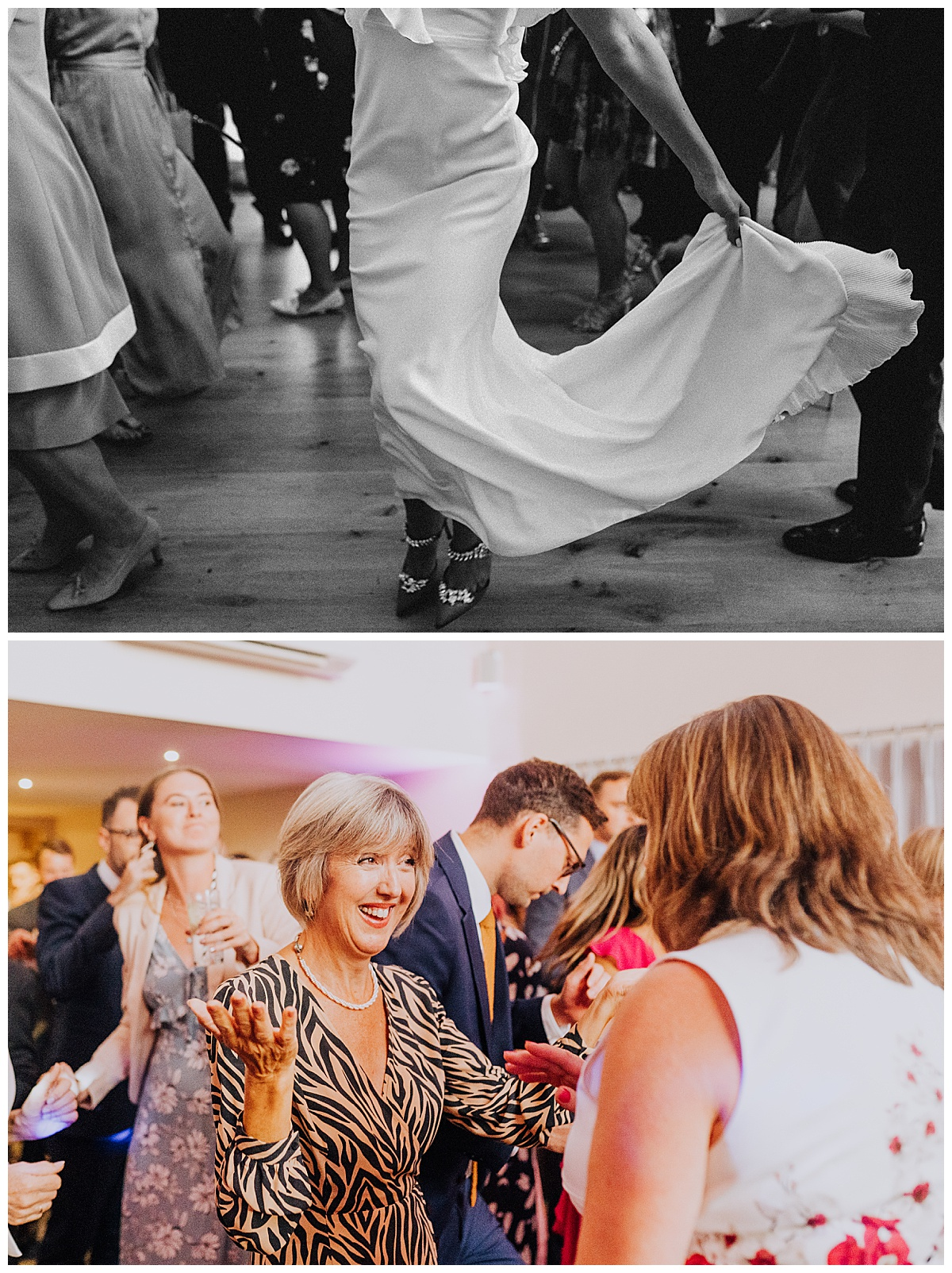 A stylish and chic wedding with a high fashion edge at Millbridge Court, Surrey