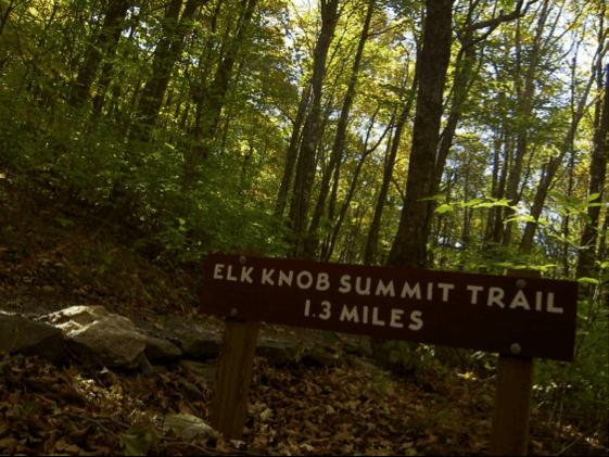 elk knob summit blue ridge conservancy